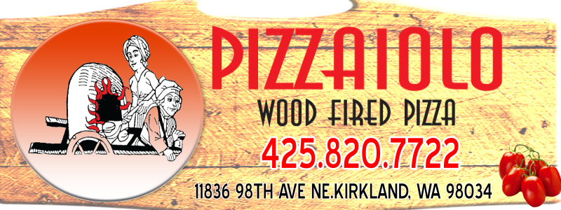 Pizzaiolo Wood Fired Pizza Logo